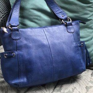 Awesome Peck & Peck leather shoulder bag
